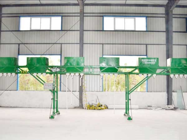 Gantry feeding automatic machine