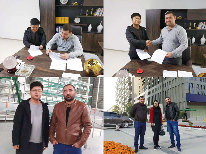 Customers visiting from Uzbekistan